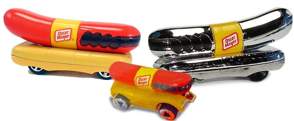 Oscar Mayer Weinermobile Hot Wheels