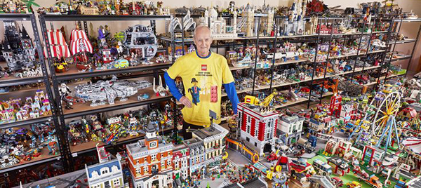 worlds largest lego collection