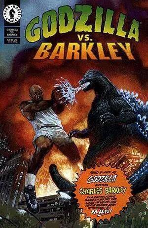 Godzilla vs Barkley