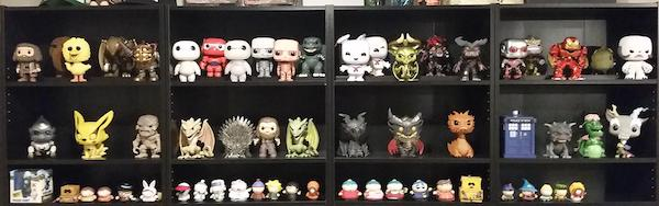 loose funko pop collection