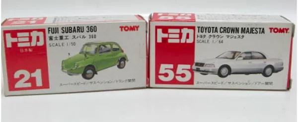 tomica 1977 box