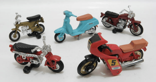 tomica motorcycles