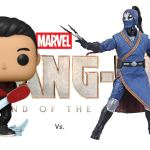 """Funko vs. Hasbro – Marvel """"Shang-Chi and the Legend of the 10 Rings"""" Collectibles"""