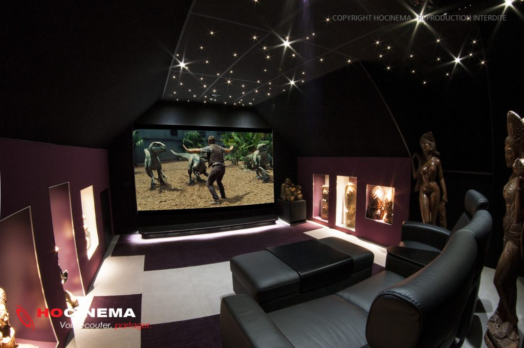 Salle home cinema et emplacement inattendu