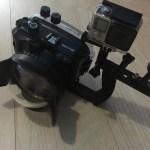 Meikon Unterwassergehäuse + GoPro