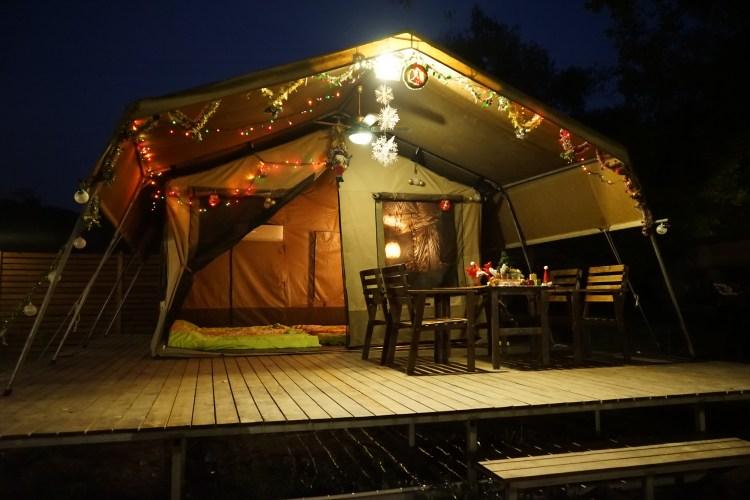 聖誕暖氣南非營屋