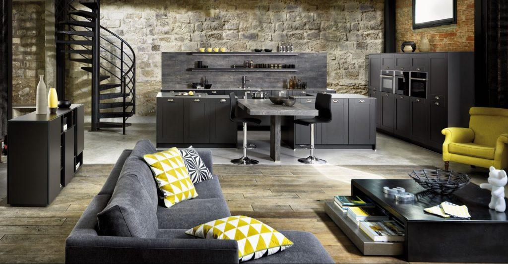 cuisine ouverte sur le salon 3 idees