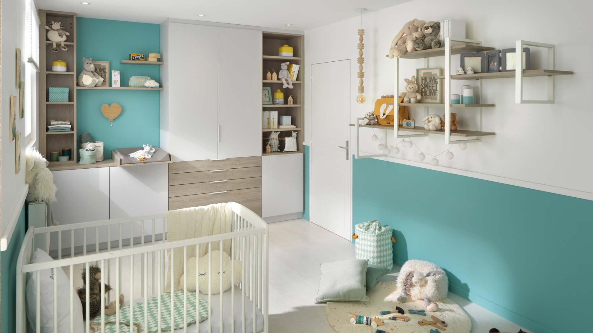 meubles de rangement enfant chambre