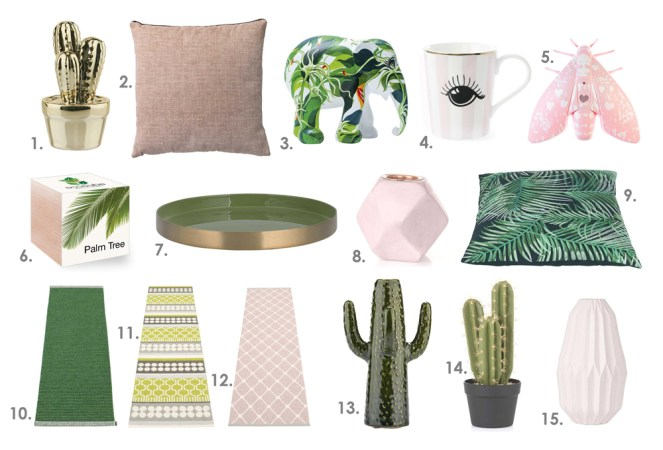 Green and Pink Home Accessories