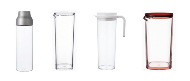 Plastic-Free Water Carafe Reusable