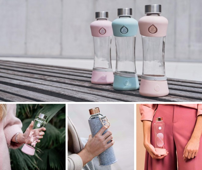 Plastic Free Glass Equa Bottles 1