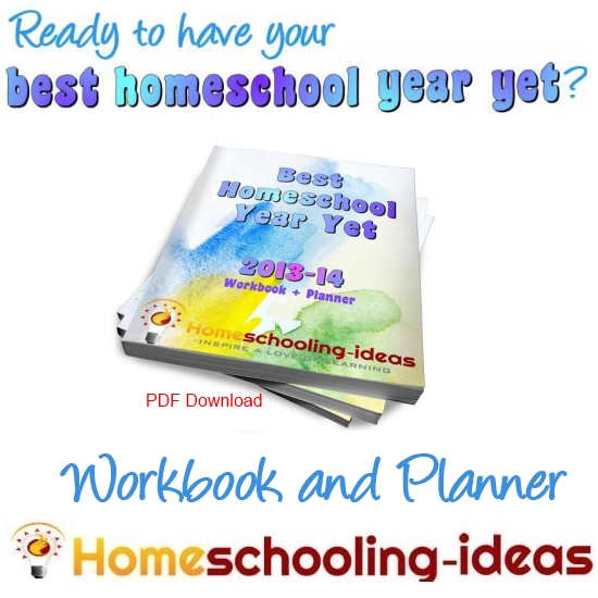 Homeschool Workbook and Planner