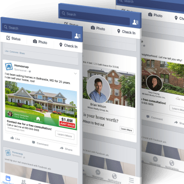 Facebook Ads Homesnap