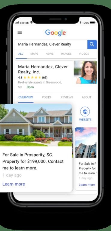 Homesnap Pro+ Google business profile verification
