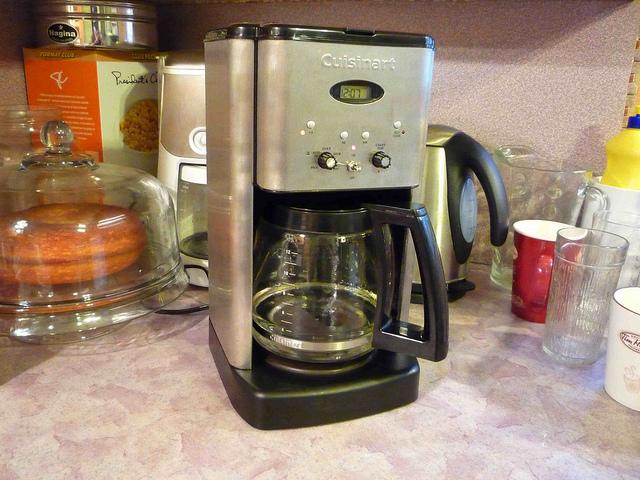 coffee machine phantom power
