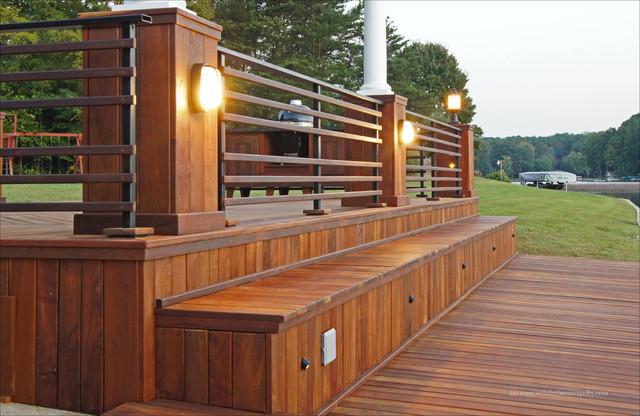 exotic lumber deck material