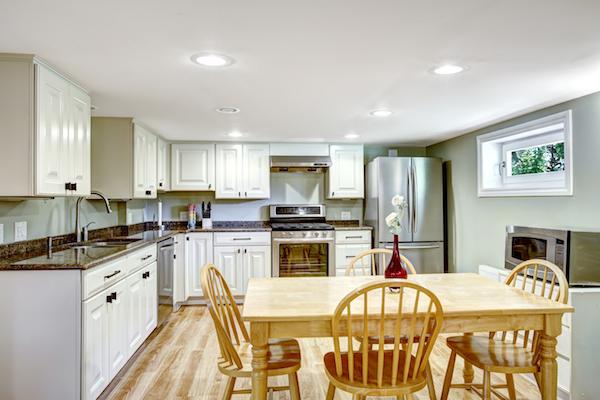 basement kitchen appliances