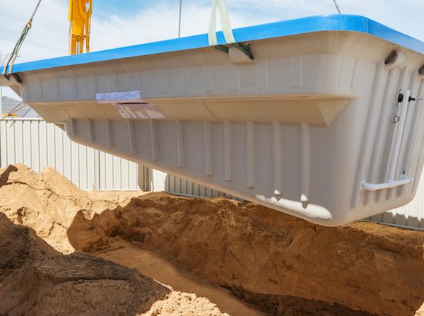 fibreglass pools installation