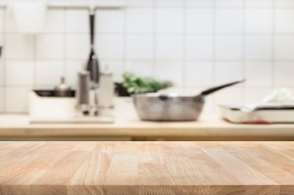 countertops dirtiest places in kitchen