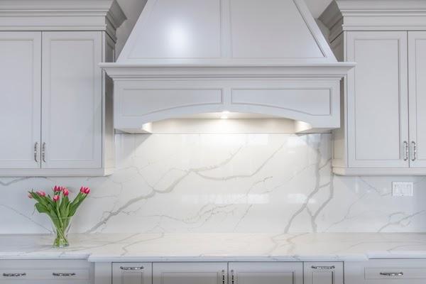 matching countertop and backsplash kitchen countertop trends 2020