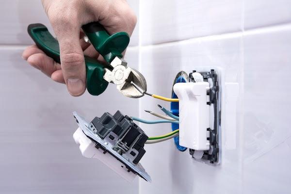 electrical work during bathroom renovation