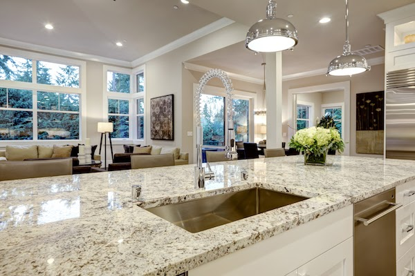 countertops that have been spring cleaned