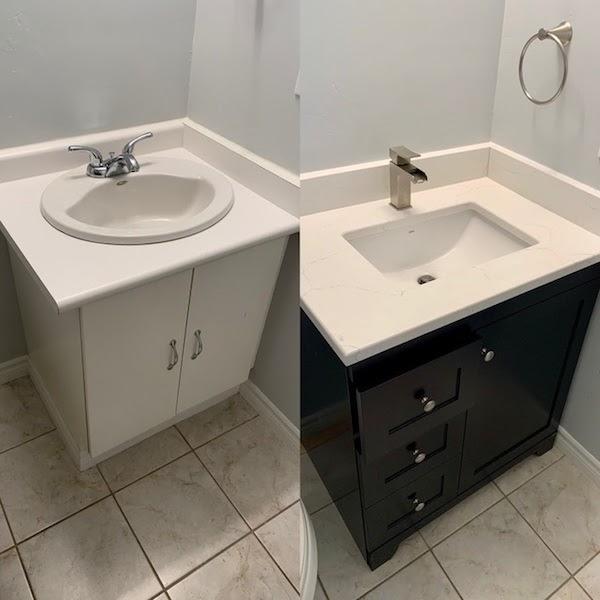 vanity replacement