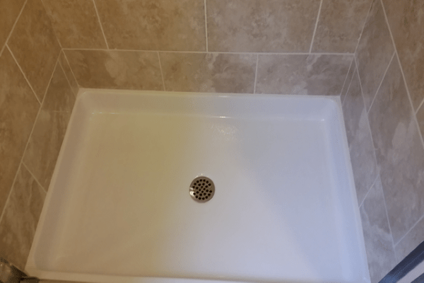 bathroom shower pan replacement vancouver