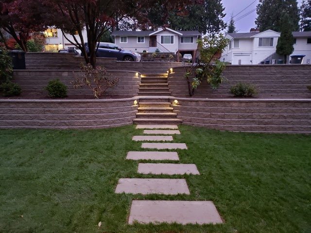 new landscaping front yard home projects