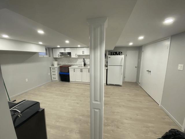 basement during reno