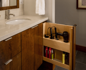 storage tips for a small bathroom