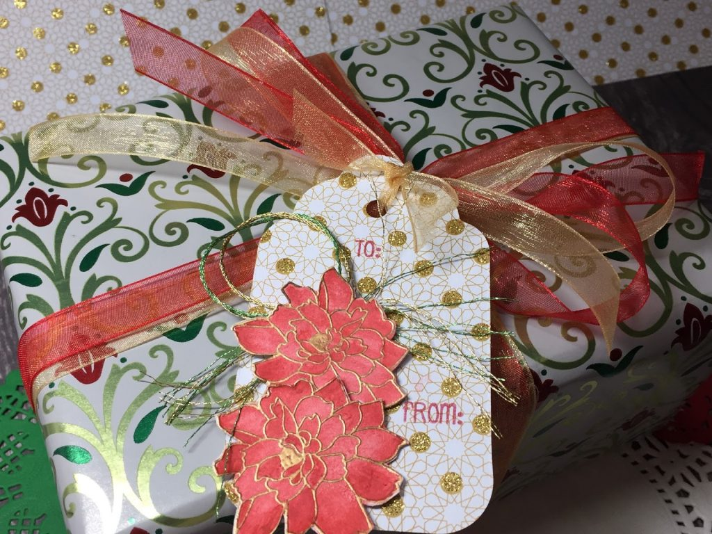 Creating with Carrie – Pretty gift tags