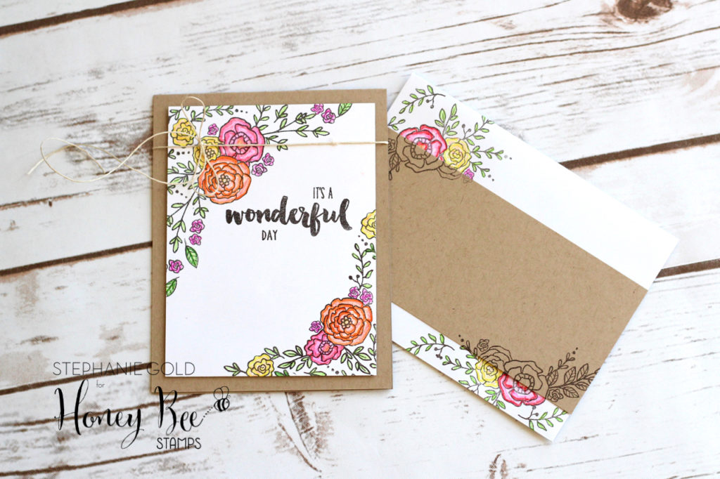 Card & Matching Envelope | Stephanie Gold