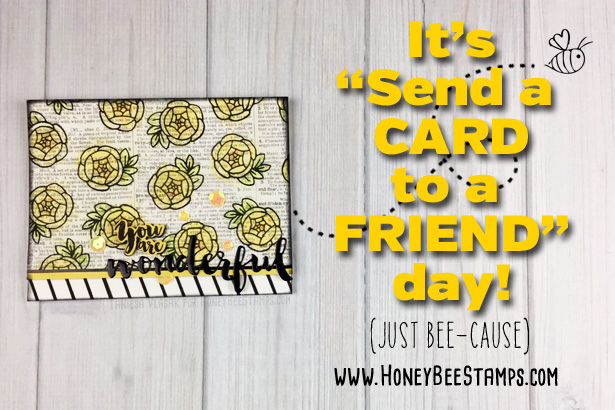 "It's ""Send-A-Friend-A-Card"" Day!"