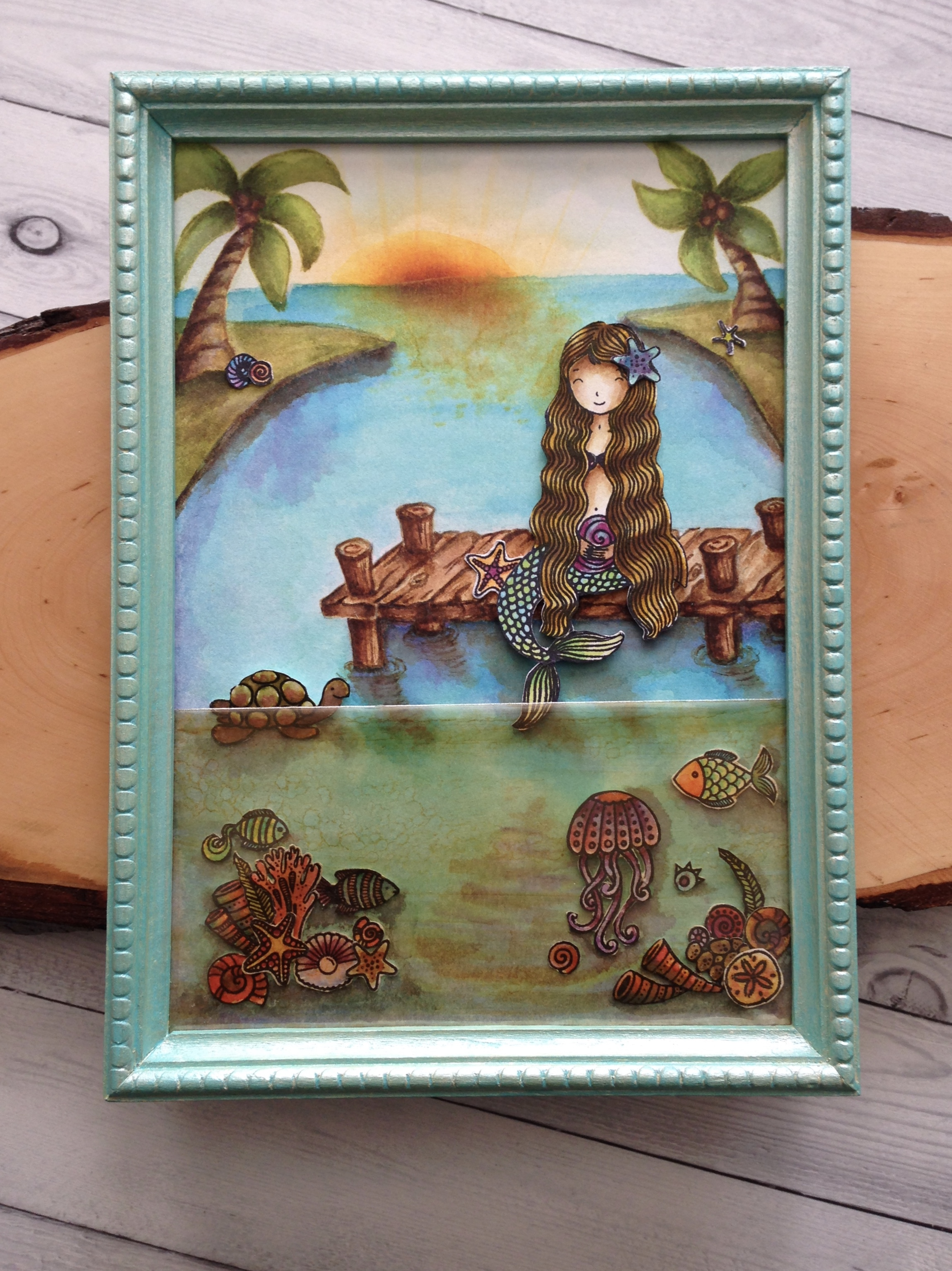 "Saturday Stamping ""Under the Sea"" with Jo Ann Danchik"
