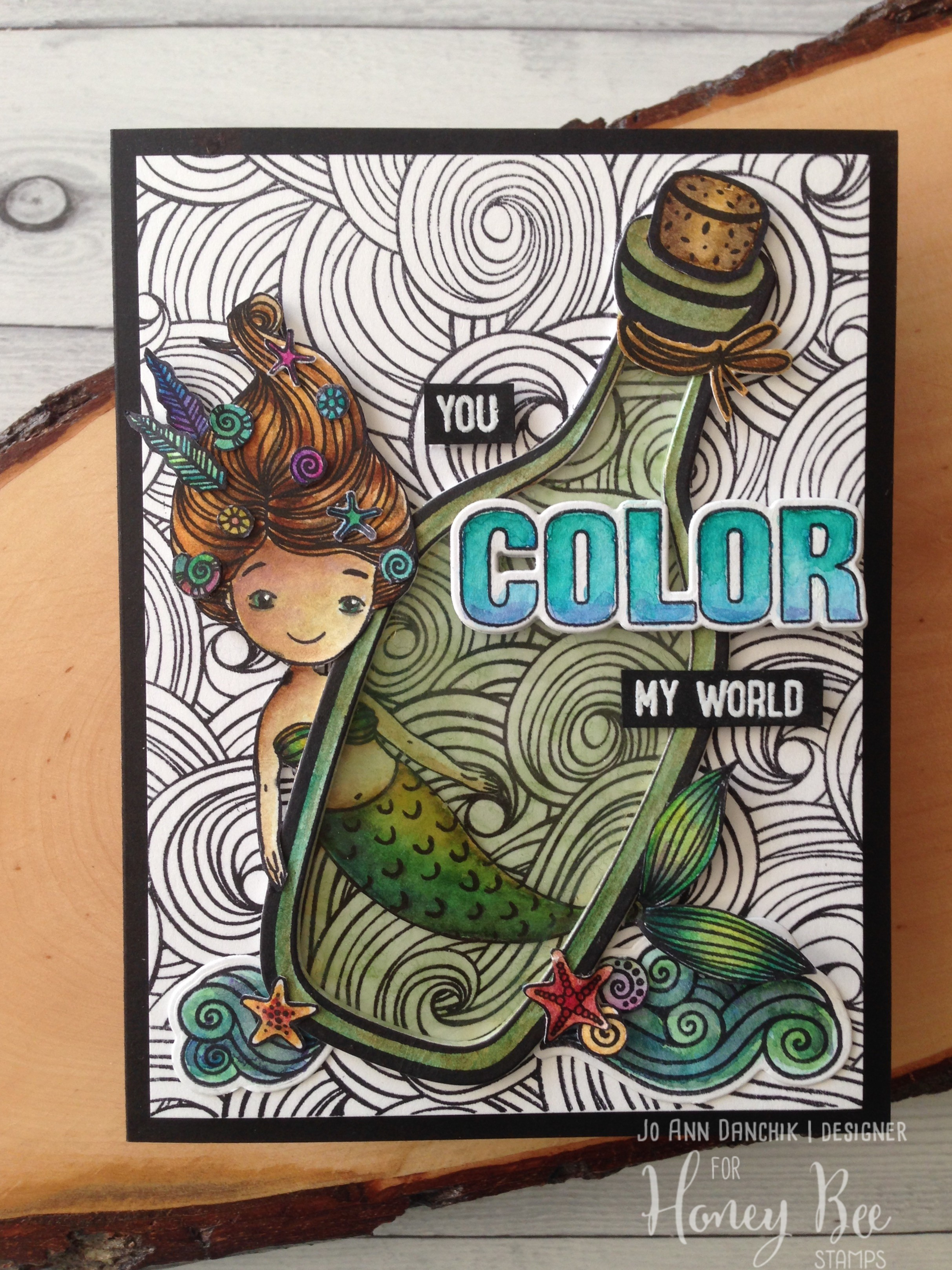 Saturday Stamping with JoAnn: You Color My World