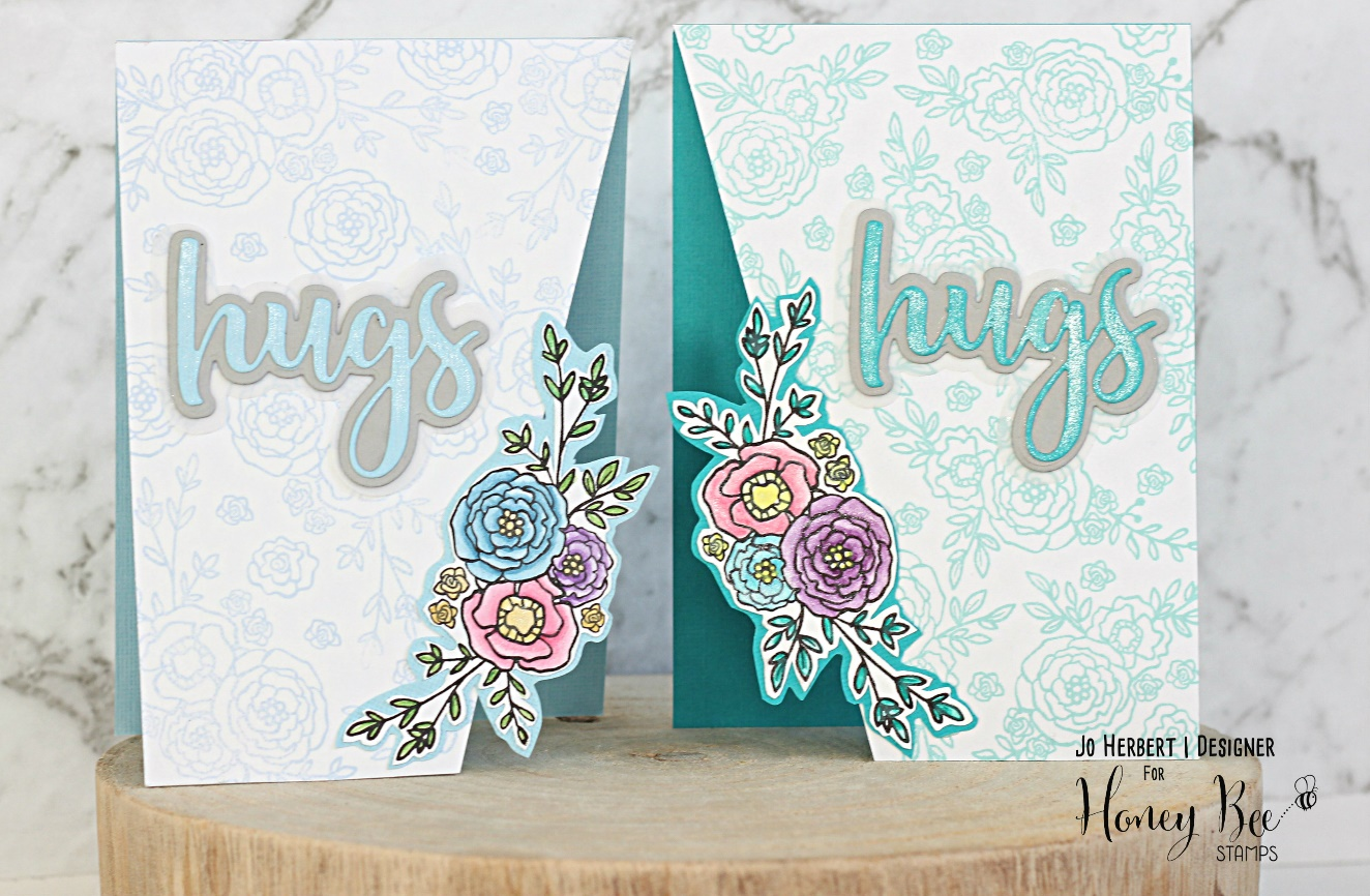 Shaped Cards with Jo