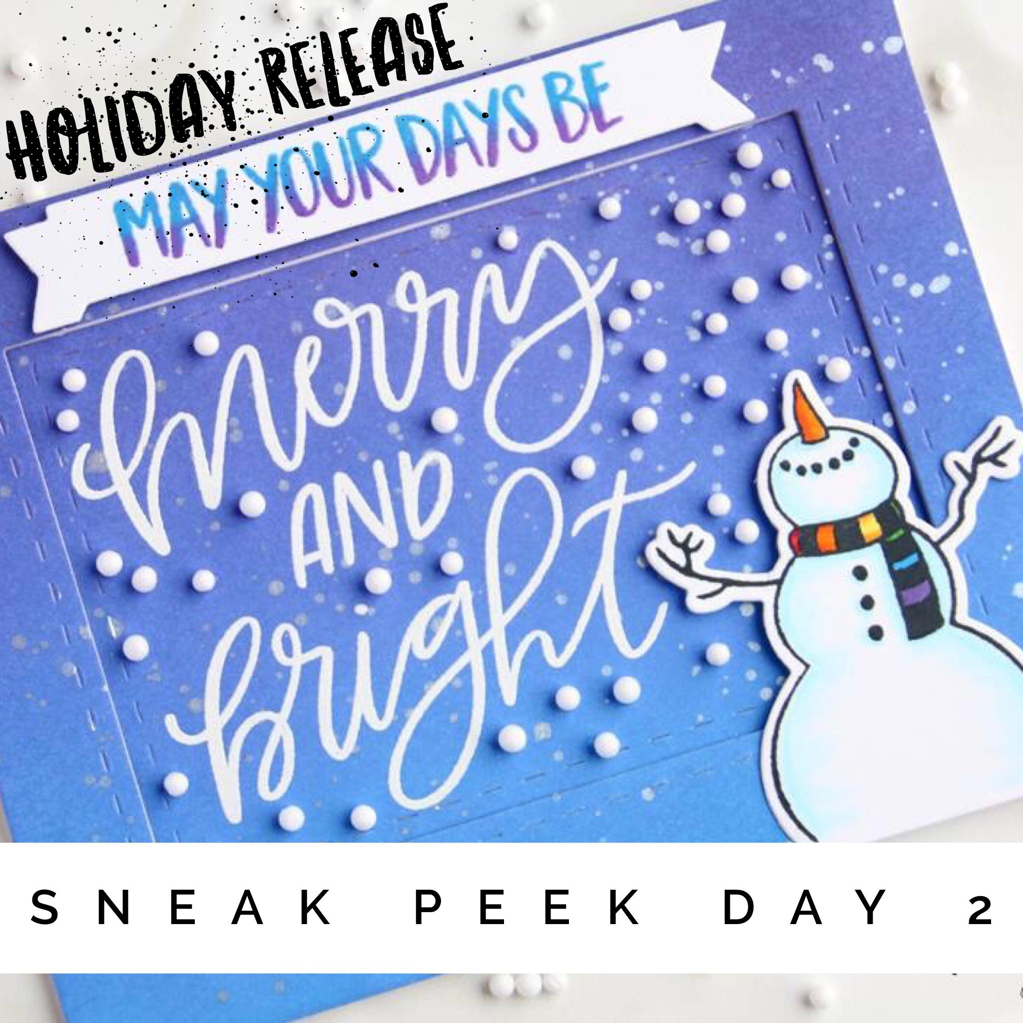 Holiday Release: Sneak Peeks Day 2