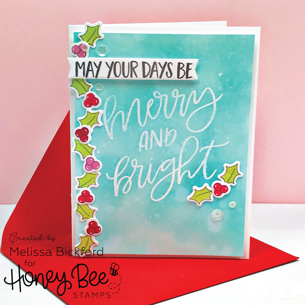 Merry & Bright – Honey Bee Stamps