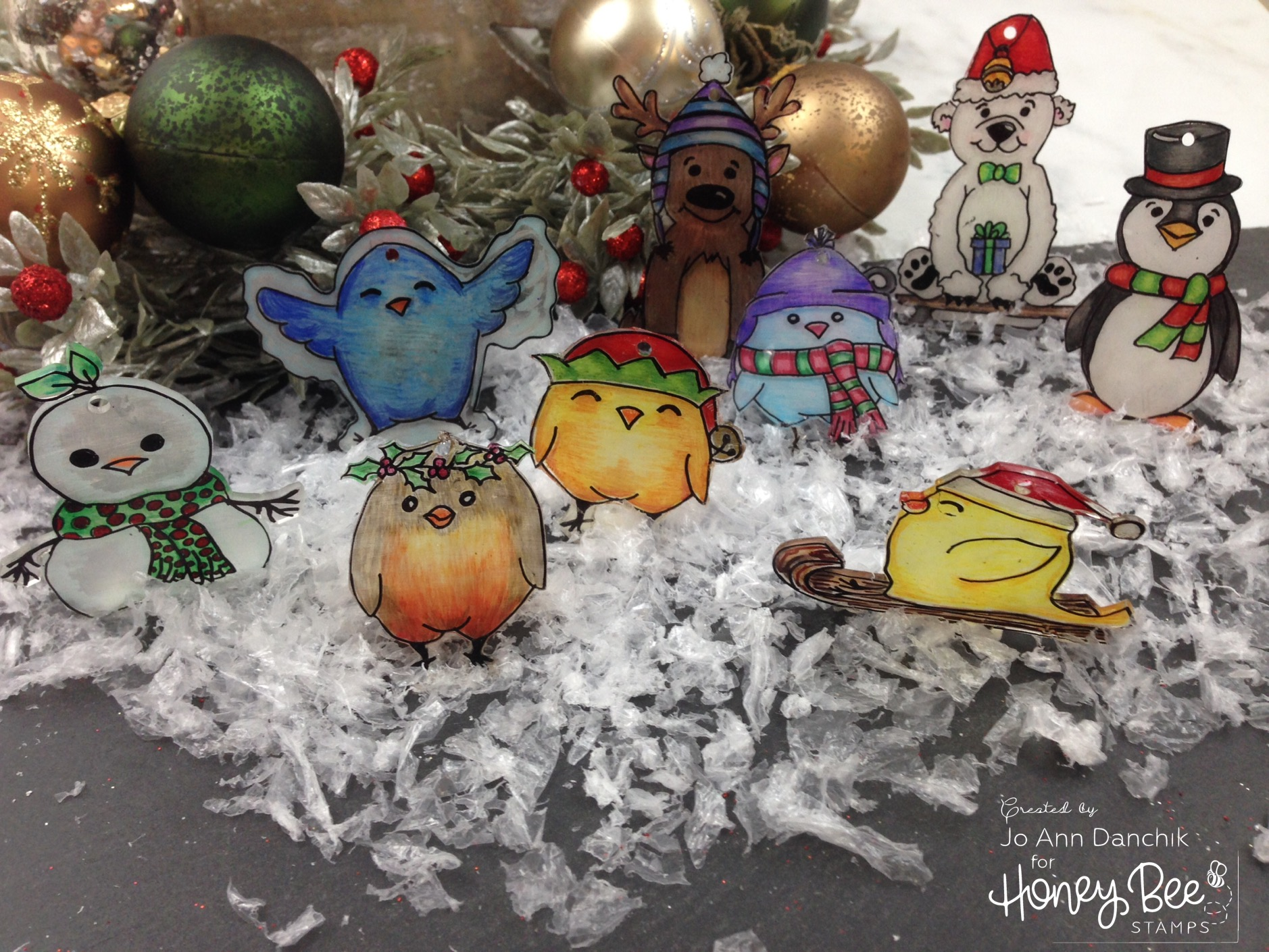Creative Sundays with Jo Ann: Shrinky Dink Ornaments