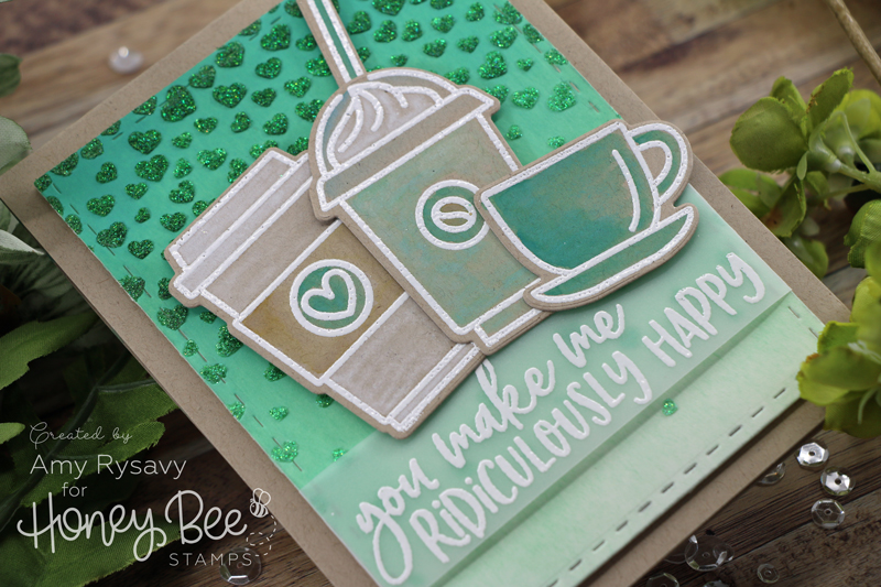 GREEN for Coffee Card with Amy Rysavy