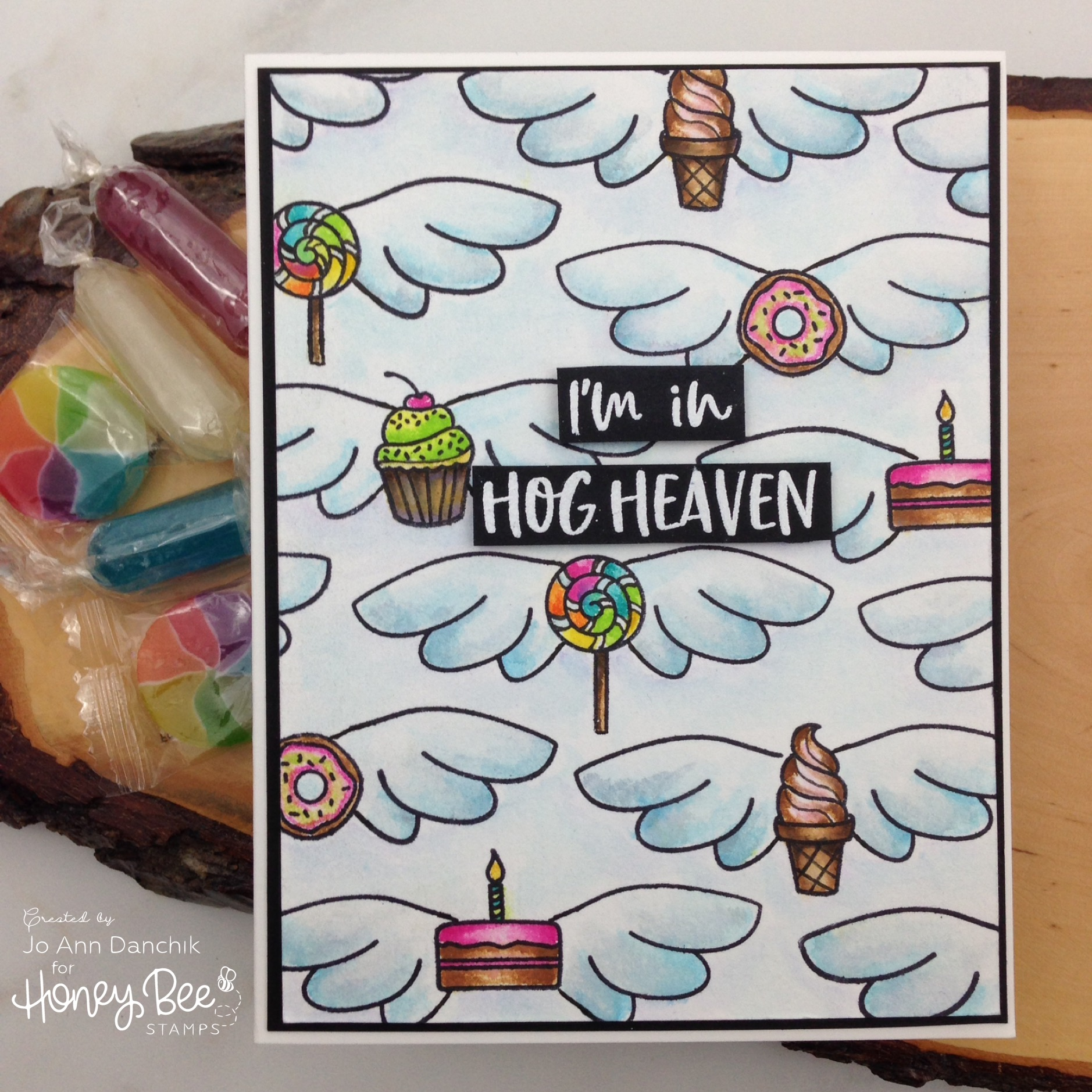 Creative Sundays With Jo Ann: I'm In Hog Heaven