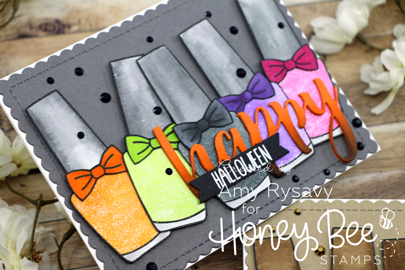 Seasonal Nail Polish Bottle Cards with Amy Rysavy