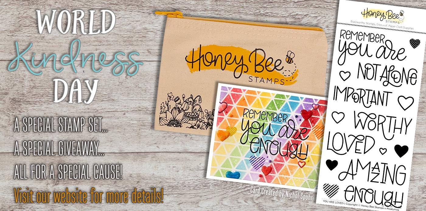 "Celebrating World Kindness Day With Our ""You Are Loved"" Stamp Set"