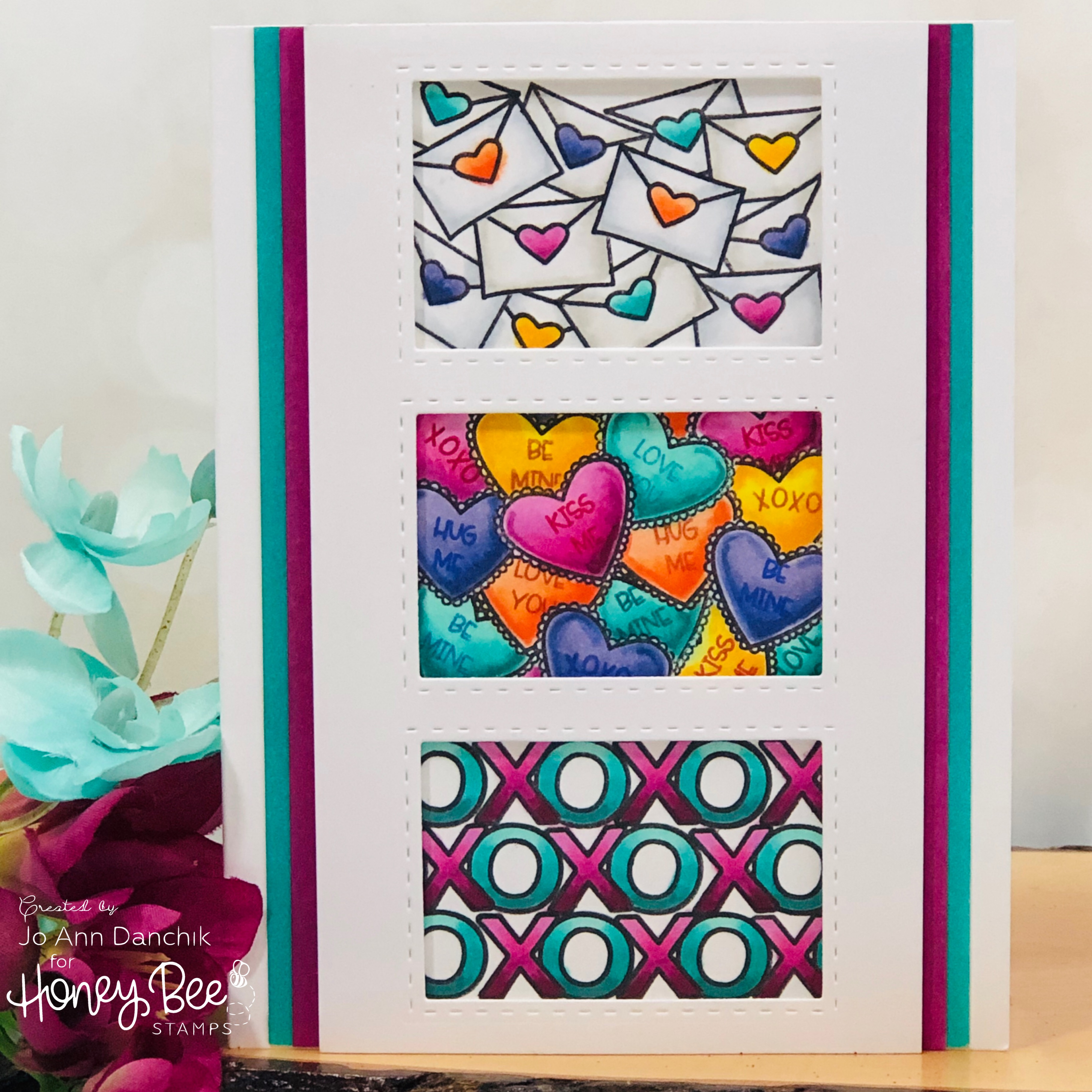Creative Sundays With Jo Ann: Valentine Love Trio