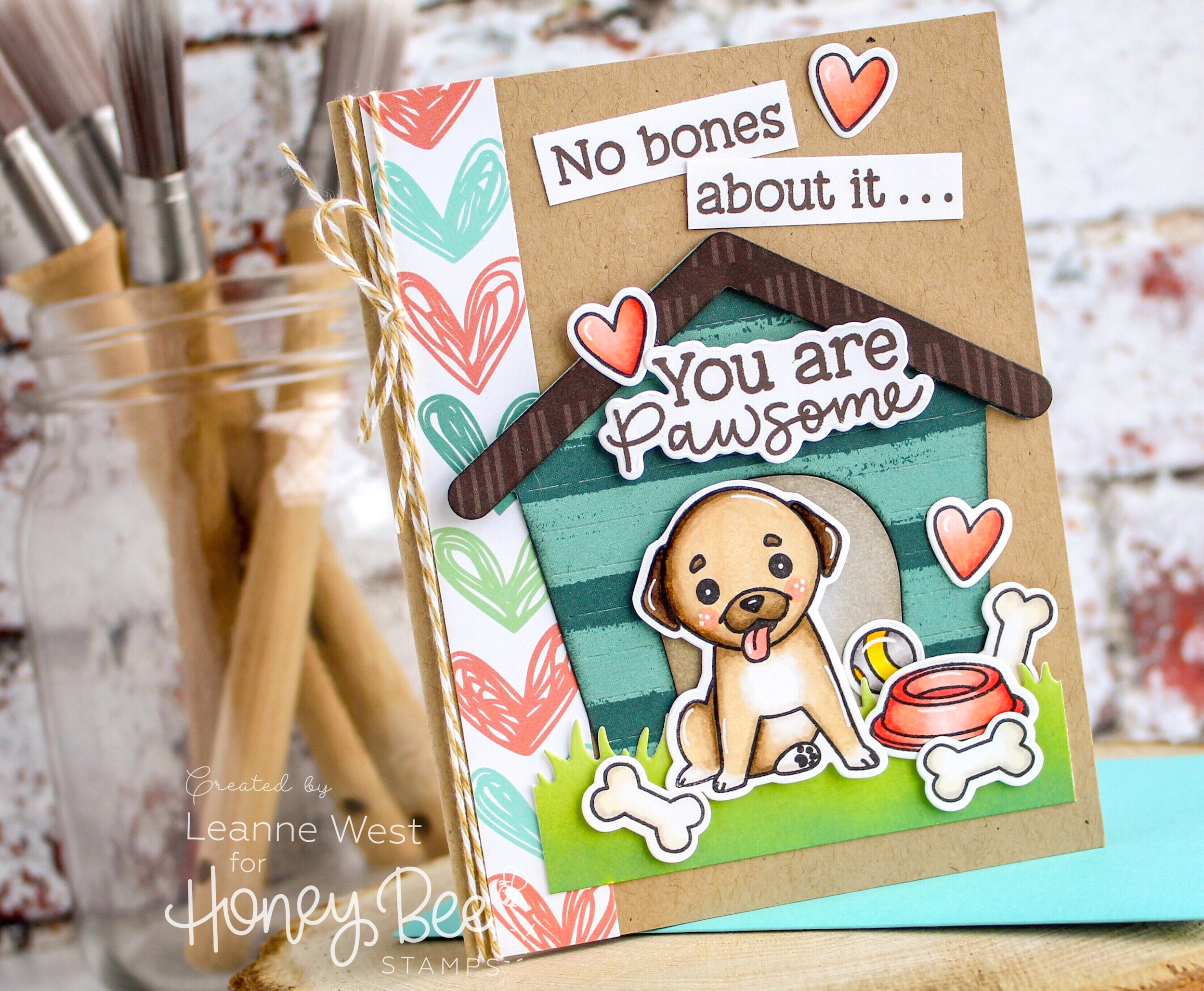 Puppy Love You Are Pawsome Card