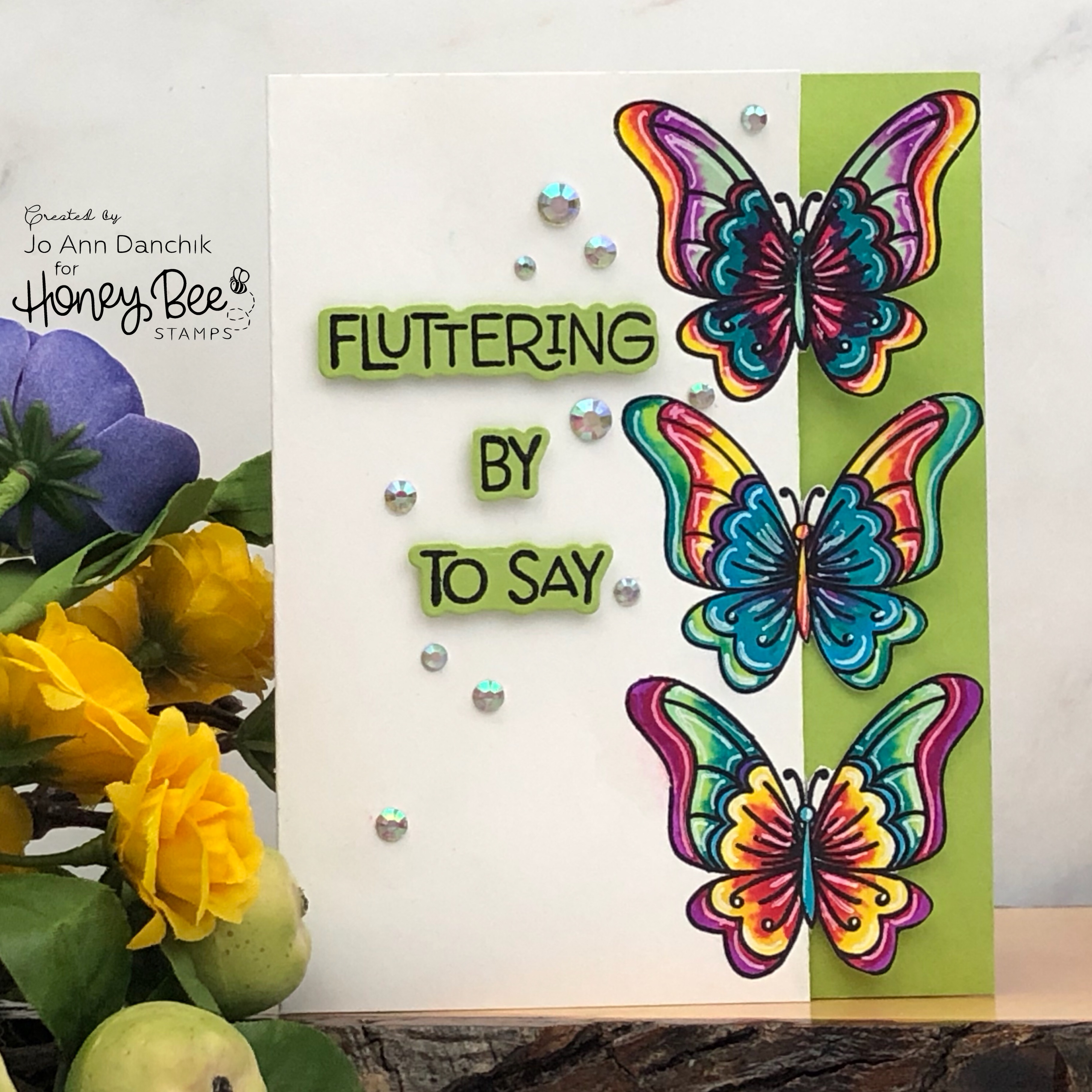 Creative Sundays With Jo Ann: Fluttering By