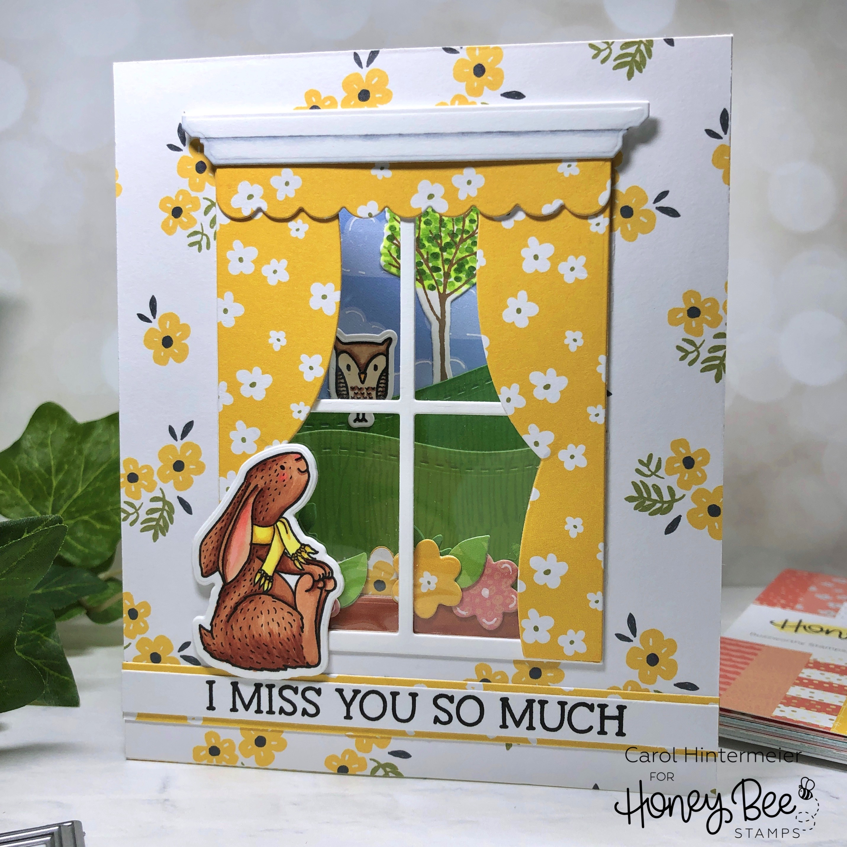 Miss You So Much | Cottage Window Scene