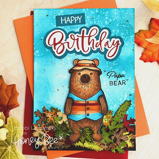 Papa Bear Celebrates Another Birthday!