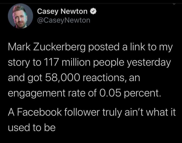 Casey Newton Audience Acquisition Fail